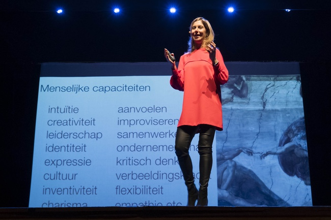 Claire Boonstra spreker