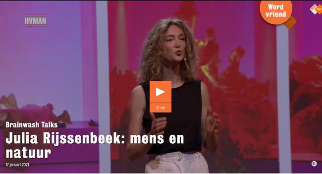 Julia Rijssenbeek Brainwash Talk
